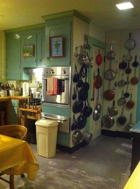 Julia Child's kitchen.