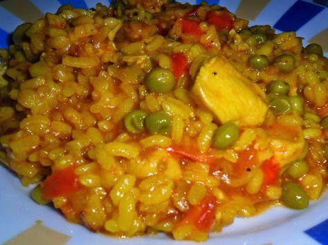 adelgazar comiendo arroz con pollo