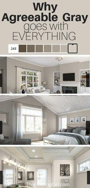 Agreeable Gray The Ultimate Neutral Greige Paint Color Paint Colors For Home House Colors Living Room Paint