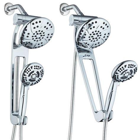 Hotel Spa 13 Spray 6 In High Pressuredual Showerhead And Handheld