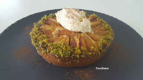 Nectarinetaart / pie with nectarines #spermalie