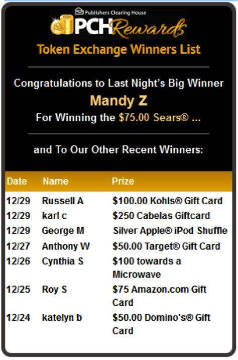 Image result for PCH Winners List | pch instant winnier | Games to