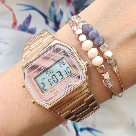 Vintage Casio Watch Rose