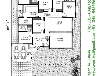 50x90 House Plan India Google Search House Plans How To Plan Floor Plans