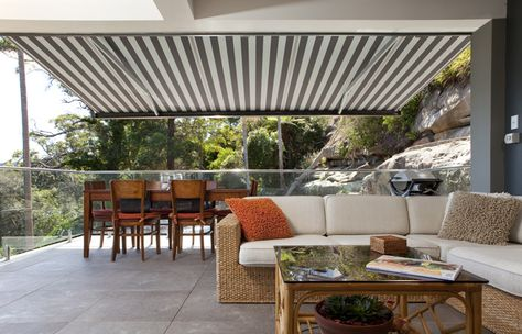 accent awnings lets you create an outdoor room that protects you