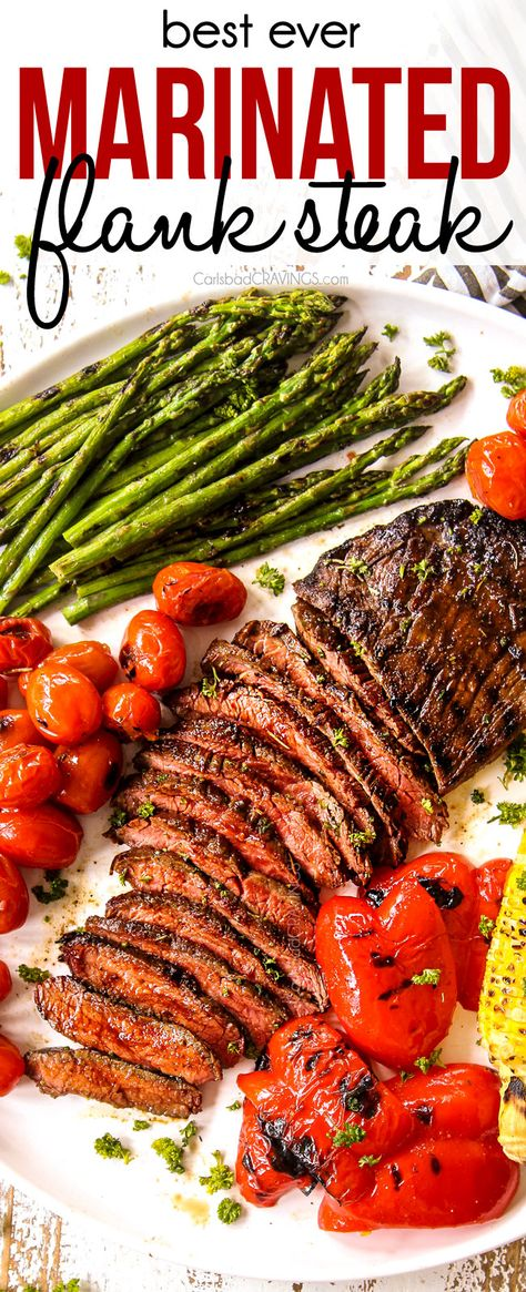 BEST Marinated Flank Steak **GRILLING OR BAKING INSTRUCTIONS**