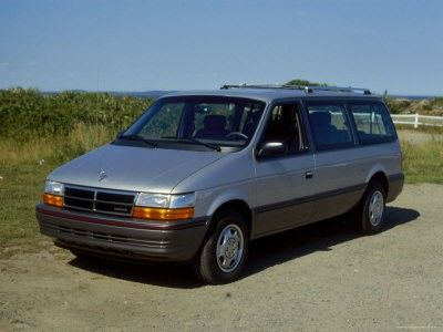 1991 The 1st Year For The 2nd Generation Dodge Grand Caravan