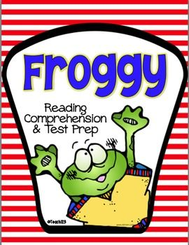 2nd grade - Test Prep: Reading Comprehension - Froggy #Teach123