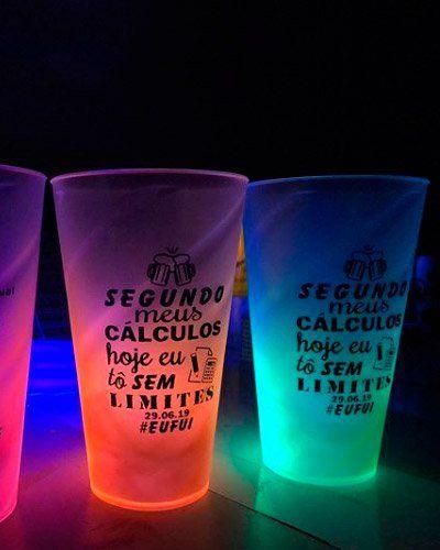 Copo Neon Personalizado Copos Neon Personalizados Com Imagens