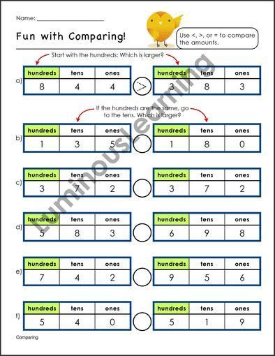 Grade 2 Number Sense And Place Value Workbook Place Values Number Sense 2nd Grade Worksheets