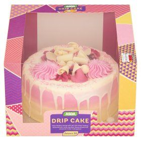 Terrific Asda Drip Celebration Cake Asda Groceries With Images Online Personalised Birthday Cards Vishlily Jamesorg