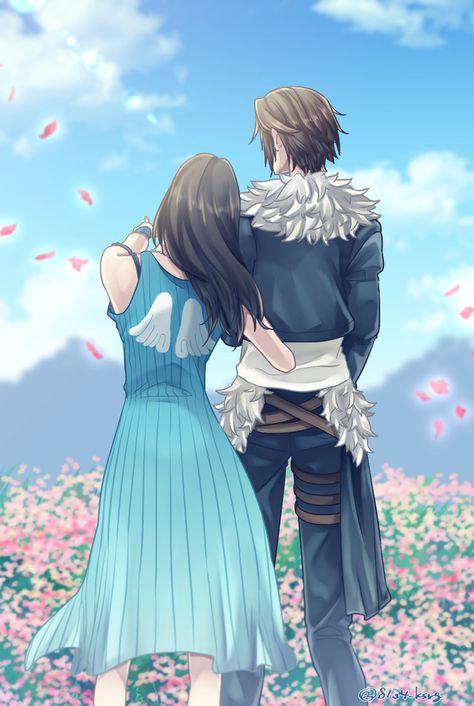 Squall and Rinoa (Final Fantasy 8) (c) 1999 Square Enix