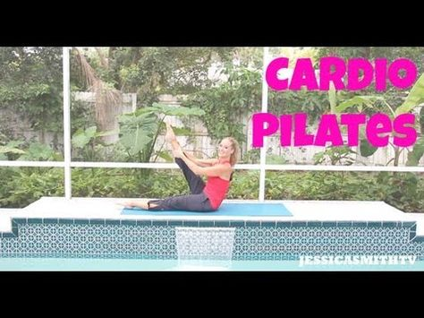 Burn More Fat & Calories with Cardio Pilates! Check out this week's new JESSICASMITHTV episode