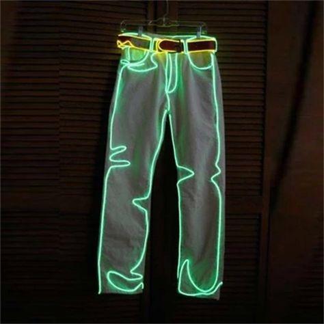 at Coachella Enlighted Illuminated Clothing