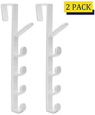 Home Organizer Tech 5 Layers Over The Door Hook Organizer Rack