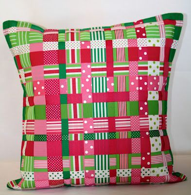 #KatydidDesigns Ribbon Pillow featured on #GMA.  A Ribbon Runs Through It