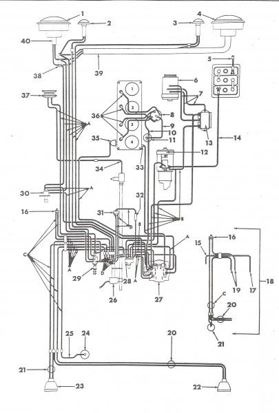 1966 jeep wiring harness | jeep, harness, willys  pinterest