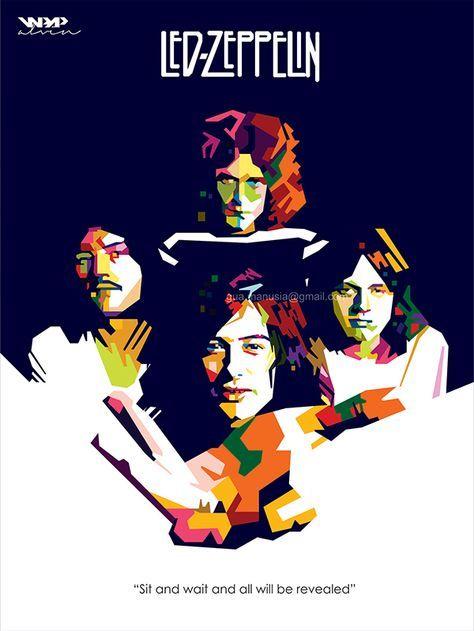 Kashmir By Vinartvin On Deviantart Led Zeppelin Art Zeppelin