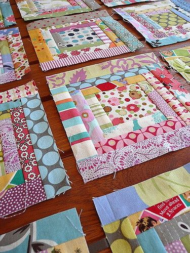 Scrappy Log Cabin Challenge Blocks Scrap Quilt Patterns Log Cabin Quilt Pattern Quilts