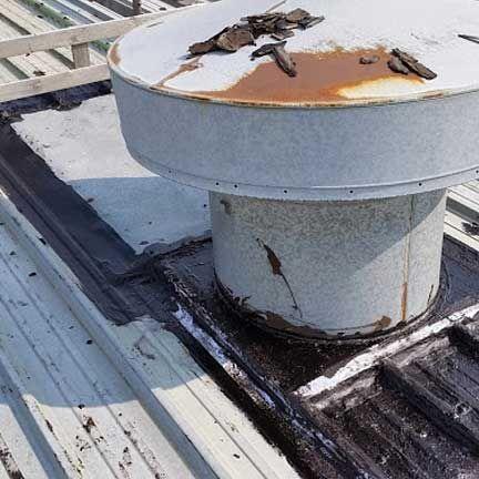 Metal Roof Repair Detroit Michigan Metal Roof Repair Metal Roof Metal Roof Coating