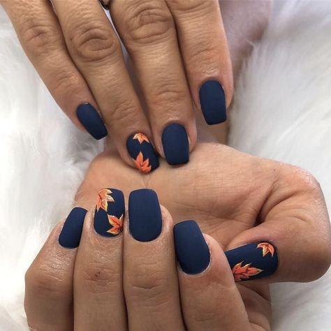 Square Nail Designs, Fall Nail Art Designs, Acrylic Nail Designs, Fall Acrylic Nails, Autumn Nails, Winter Nails, Spring Nails, Fall Gel Nails, Nail Summer