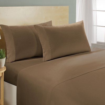 Ultra Soft Cozy Egyptian Cotton 4 PCs Sheet Set 1000 Thread Count White Solid