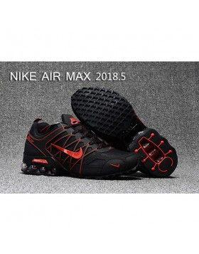 Günstige Herren Nike Air Max 2018 Schwarz Orange Weiß Laufschuhe