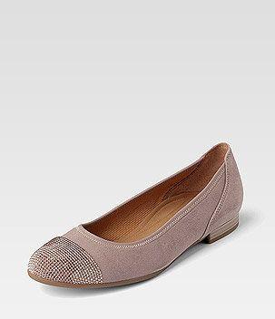 Gabor rosé Ballerina Flats | Ballerinas, Ballerina und Schuhe