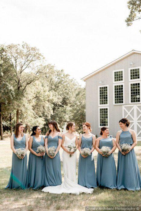 Dakota And Claire S Wedding In Dallas Texas Summer Bridesmaid Dresses Spring Bridesmaid Dresses Flower Girl Dresses