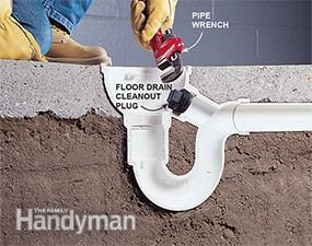 How To Unclog A Drain Floor Drains Plumbing Drains Flooring