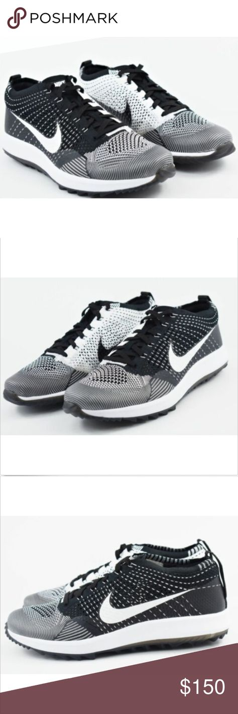 a2a9c8430f12c Nike Flyknit Racer G Oreo Mens Size 11.5 Golf Shoe New without box Nike  Flyknit Racer