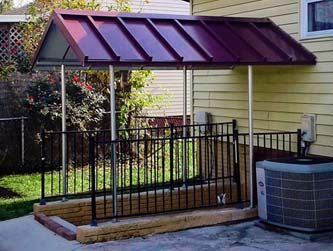 Basement Awnings And Stairway Awnings With Images Stairways