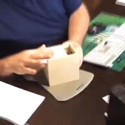 Prank Inset Wooden Scare Box Trick Play Funny Novelties Toys