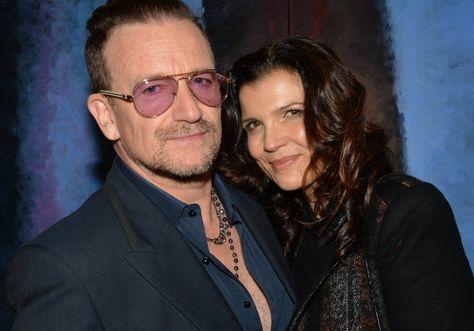 Bono, Ali y Jordan en Montecarlo en la Gala Benéfica Love Ball