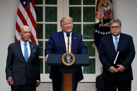 Wilbur Ross' cabinet agency reaches 'new heights of dysfunction': Donald Trump, William Barr, Wilbur Ross