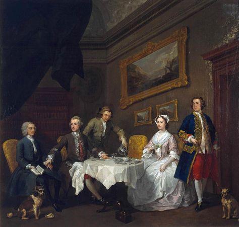 William Hogarth 1697 1764 The Strode Family C 1738 500x429