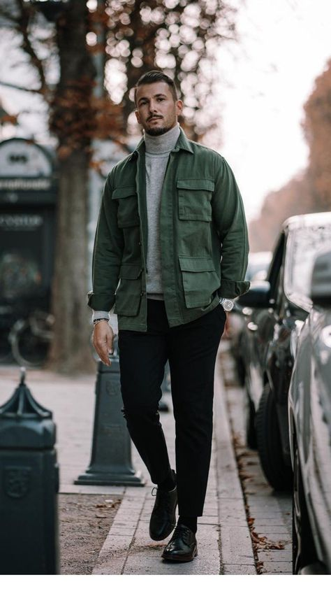5 Super Cool Fall Outfits To Help To Level Up Your Fall Style #mens #fashion #street #style