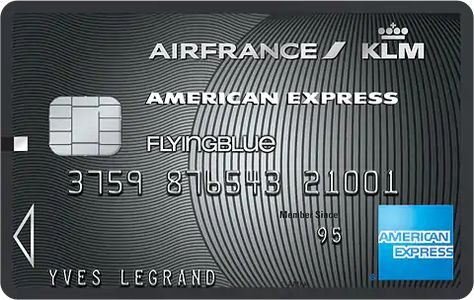 Carte Pro Air France Klm Platinum American Express France