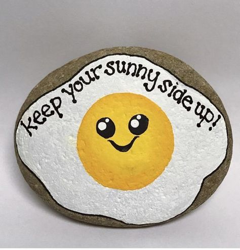 35 Awesome Painted Rocks Quotes Design Ideas - Steine bemalen - Painting Tips Rock Painting Patterns, Rock Painting Ideas Easy, Rock Painting Designs, Paint Designs, Rock Painting Ideas For Kids, Paint Patterns, Paint Ideas, Pebble Painting, Pebble Art