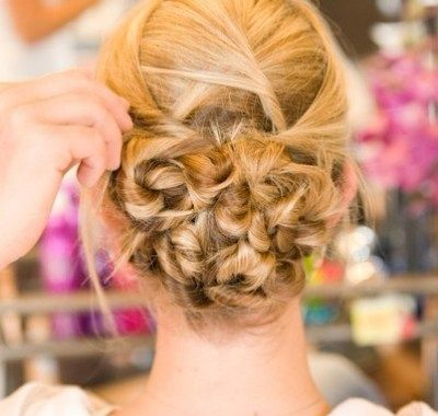 Prom Hairstyles For Long Hair Updos Back View