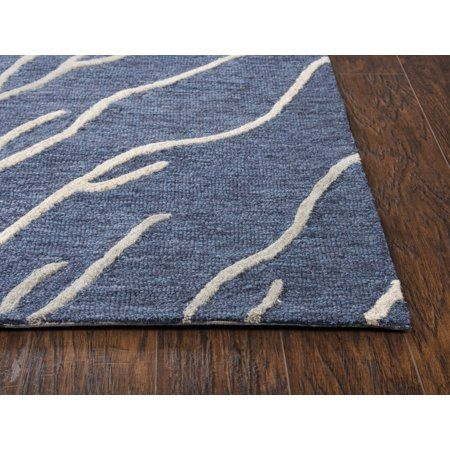 Home Area Rugs Rugs Blue