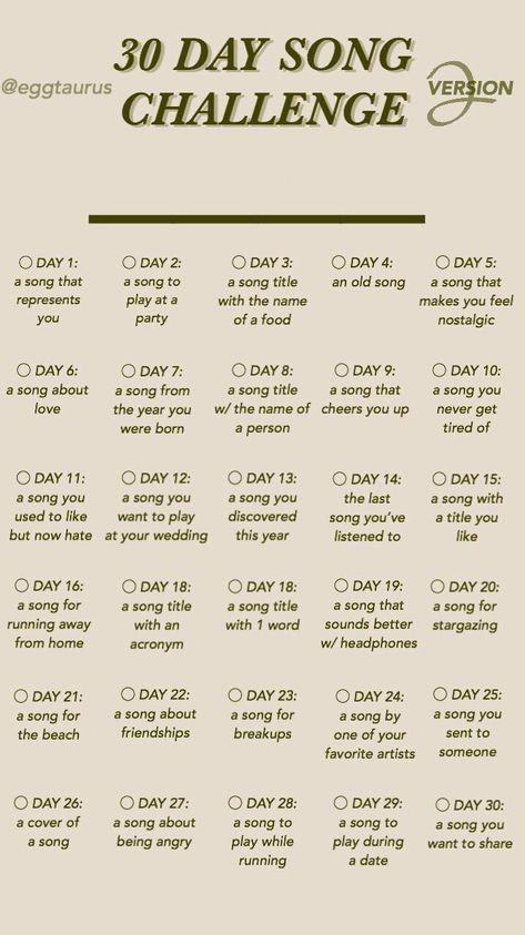 30 day song challenge part 2 #30daysongchallenge #instagramtemplate #templates #instagram #stories #question #music
