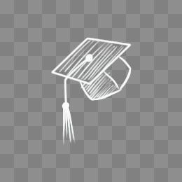 Bone Graduation Hat Bachelor Free Graphic Design
