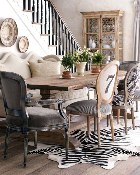 Dining Chairs Mismatched Chairs Via Monsoon Pacific Voyage Upholstered Dining Black Set Of 2 Dining Room Trends Mismatched Dining Room Mix Match Dining Chairs