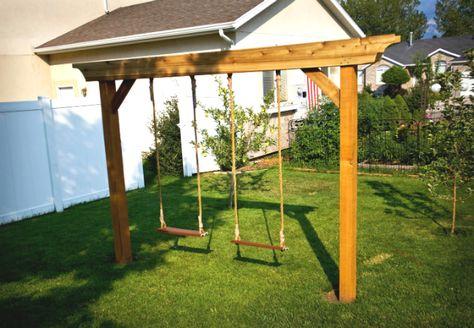 Weekend Projects 5 Fun Diy Swing Sets Play Area Backyard