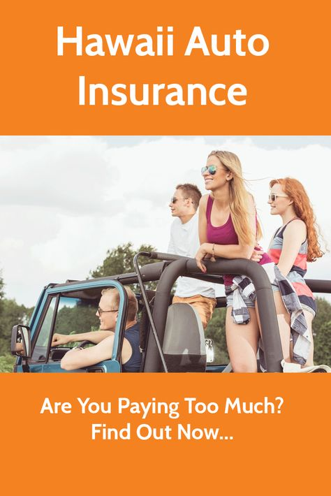 Hawaii Auto Insurance Bp Car Insurance Car Insurance Cost Car
