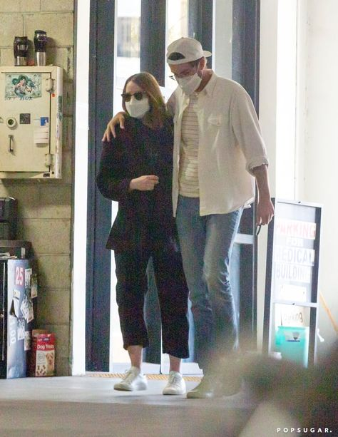Emma Stone and Dave McCary have plenty to celebrate these days. The parents-to-be are newly married, expecting their first child together, and gearing up for the highly anticipated release of Emma's film Cruella in May. The low-key couple was spotted recently in LA on Feb. 27. We love to see them looking happy together! Emma and Dave were first connected in 2017, and after two years of dating, Dave popped the question in 2019. They've kept their love story out of the limelight for most of their