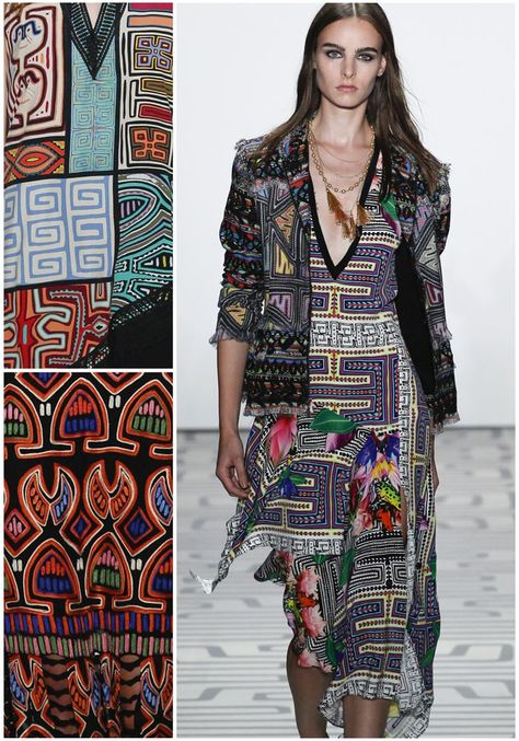New York Fashion Week Print & Pattern Highlight: RTW Spring/Summer 2017 – Nicole Miller