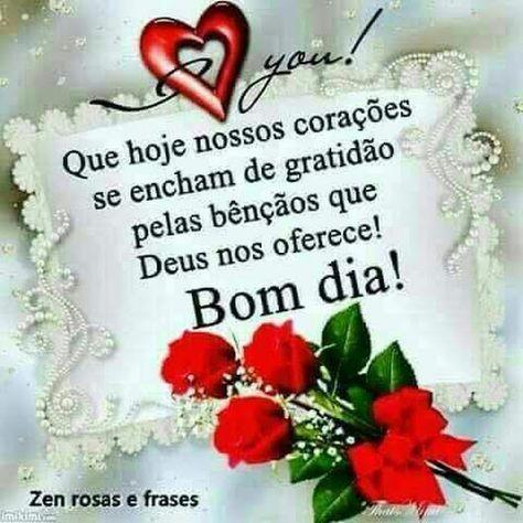 Bom Dia E A Paz Do Senhor Jesus Deus Vos Abencoe E Vos Guarde