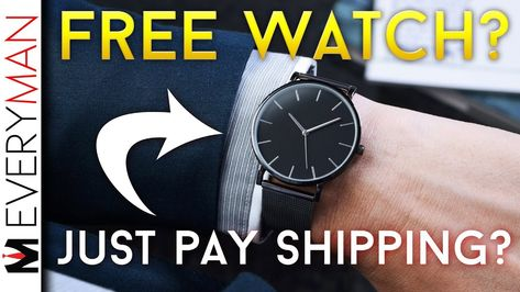 'FREE' Watches Are A CON